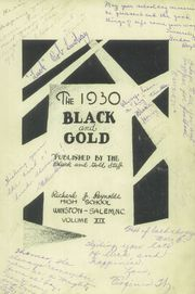 Page 5, 1930 Edition, RJ Reynolds High School - Black and Gold Yearbook (Winston Salem, NC) online yearbook collection