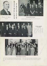 Page 14, 1944 Edition, RJ Reynolds High School - Black and Gold Yearbook (Winston Salem, NC) online yearbook collection