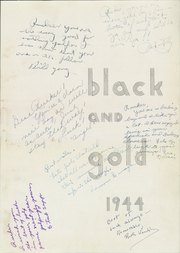 Page 5, 1944 Edition, RJ Reynolds High School - Black and Gold Yearbook (Winston Salem, NC) online yearbook collection