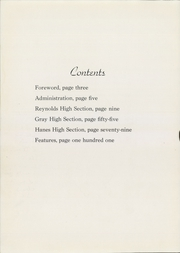 Page 8, 1944 Edition, RJ Reynolds High School - Black and Gold Yearbook (Winston Salem, NC) online yearbook collection