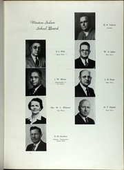 Page 9, 1945 Edition, RJ Reynolds High School - Black and Gold Yearbook (Winston Salem, NC) online yearbook collection
