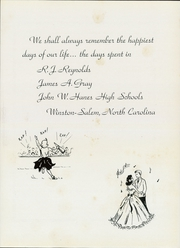 Page 7, 1953 Edition, RJ Reynolds High School - Black and Gold Yearbook (Winston Salem, NC) online yearbook collection
