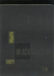 1958 Edition, RJ Reynolds High School - Black and Gold Yearbook (Winston Salem, NC)