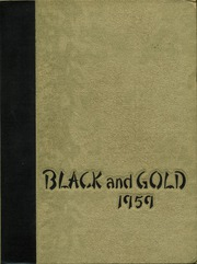 1959 Edition, RJ Reynolds High School - Black and Gold Yearbook (Winston Salem, NC)
