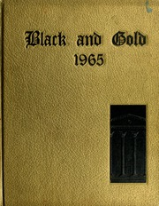1965 Edition, RJ Reynolds High School - Black and Gold Yearbook (Winston Salem, NC)