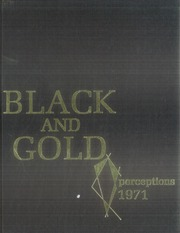 1971 Edition, RJ Reynolds High School - Black and Gold Yearbook (Winston Salem, NC)