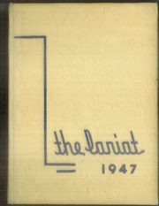 Page 1, 1947 Edition, Will Rogers High School - Lariat Yearbook (Tulsa, OK) online yearbook collection