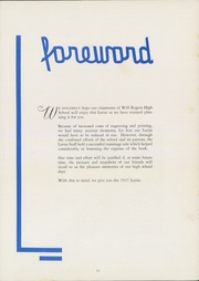 Page 15, 1947 Edition, Will Rogers High School - Lariat Yearbook (Tulsa, OK) online yearbook collection