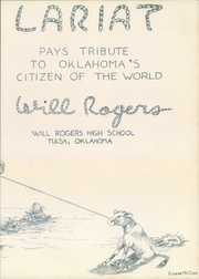 Page 7, 1950 Edition, Will Rogers High School - Lariat Yearbook (Tulsa, OK) online yearbook collection