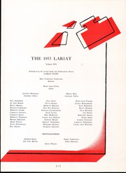 Page 11, 1955 Edition, Will Rogers High School - Lariat Yearbook (Tulsa, OK) online yearbook collection