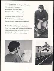 Page 10, 1969 Edition, Tigard High School - Tiger Yearbook (Tigard, OR) online yearbook collection