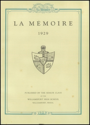 Page 5, 1929 Edition, Williamsport High School - La Memoire Yearbook (Williamsport, PA) online yearbook collection