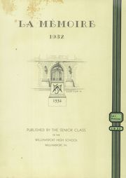 Page 5, 1932 Edition, Williamsport High School - La Memoire Yearbook (Williamsport, PA) online yearbook collection