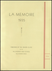 Page 5, 1935 Edition, Williamsport High School - La Memoire Yearbook (Williamsport, PA) online yearbook collection
