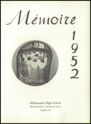 Page 7, 1952 Edition, Williamsport High School - La Memoire Yearbook (Williamsport, PA) online yearbook collection