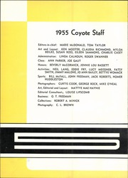 Page 6, 1955 Edition, Wichita Falls High School - Coyote Yearbook (Wichita Falls, TX) online yearbook collection
