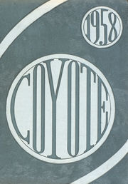Page 1, 1958 Edition, Wichita Falls High School - Coyote Yearbook (Wichita Falls, TX) online yearbook collection