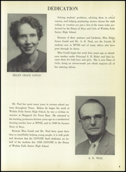 Page 9, 1958 Edition, Wichita Falls High School - Coyote Yearbook (Wichita Falls, TX) online yearbook collection