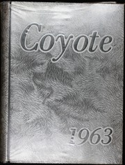 1963 Edition, Wichita Falls High School - Coyote Yearbook (Wichita Falls, TX)
