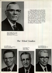 Page 14, 1963 Edition, Wichita Falls High School - Coyote Yearbook (Wichita Falls, TX) online yearbook collection