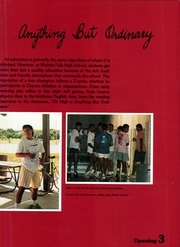 Page 7, 1988 Edition, Wichita Falls High School - Coyote Yearbook (Wichita Falls, TX) online yearbook collection