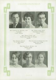 Page 16, 1930 Edition, Fort Myers High School - Caloosahatchian Yearbook (Fort Myers, FL) online yearbook collection