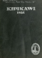 1931 Edition, Washington Park High School - Kipikawi Yearbook (Racine, WI)