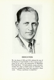 Page 6, 1937 Edition, Washington Park High School - Kipikawi Yearbook (Racine, WI) online yearbook collection