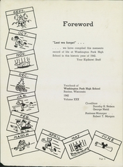 Page 8, 1942 Edition, Washington Park High School - Kipikawi Yearbook (Racine, WI) online yearbook collection