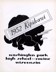 Page 4, 1952 Edition, Washington Park High School - Kipikawi Yearbook (Racine, WI) online yearbook collection