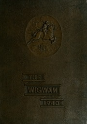 Page 1, 1940 Edition, Globe High School - Wigwam Yearbook (Globe, AZ) online yearbook collection