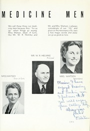 Page 15, 1940 Edition, Globe High School - Wigwam Yearbook (Globe, AZ) online yearbook collection