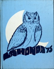 1975 Edition, Laguna Blanca School - La Honda Yearbook (Santa Barbara, CA)