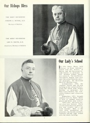 Page 10, 1955 Edition, Notre Dame High School - Mater Dei Yearbook (Batavia, NY) online yearbook collection