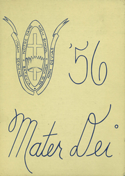 1956 Edition, Notre Dame High School - Mater Dei Yearbook (Batavia, NY)