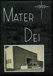 1959 Edition, Notre Dame High School - Mater Dei Yearbook (Batavia, NY)