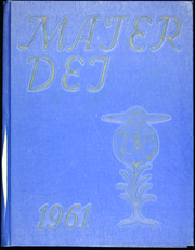 1961 Edition, Notre Dame High School - Mater Dei Yearbook (Batavia, NY)