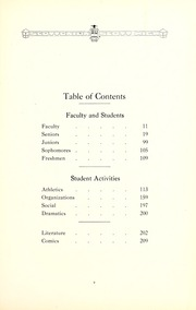 Page 13, 1921 Edition, Jesup Scott High School - Scottonian Yearbook (Toledo, OH) online yearbook collection