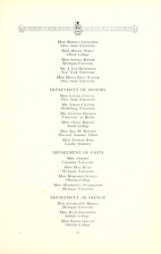 Page 17, 1921 Edition, Jesup Scott High School - Scottonian Yearbook (Toledo, OH) online yearbook collection