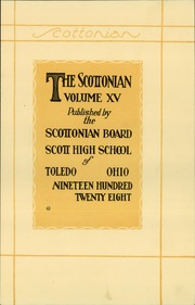 Page 11, 1928 Edition, Jesup Scott High School - Scottonian Yearbook (Toledo, OH) online yearbook collection