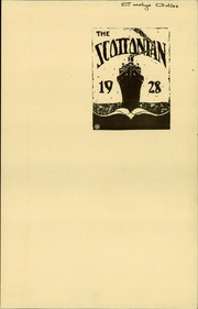 Page 5, 1928 Edition, Jesup Scott High School - Scottonian Yearbook (Toledo, OH) online yearbook collection