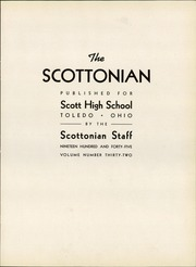 Page 7, 1945 Edition, Jesup Scott High School - Scottonian Yearbook (Toledo, OH) online yearbook collection