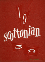 1959 Edition, Jesup Scott High School - Scottonian Yearbook (Toledo, OH)