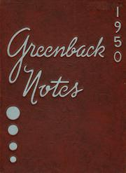 San Juan High School - Greenback Notes Yearbook (Citrus Heights, CA) online yearbook collection, 1950 Edition, Page 1