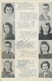 Page 16, 1946 Edition, Laconia High School - Lakon Yearbook (Laconia, NH) online yearbook collection