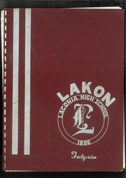 Page 1, 1949 Edition, Laconia High School - Lakon Yearbook (Laconia, NH) online yearbook collection