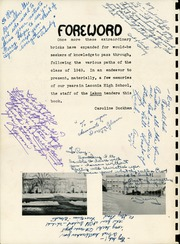 Page 4, 1949 Edition, Laconia High School - Lakon Yearbook (Laconia, NH) online yearbook collection