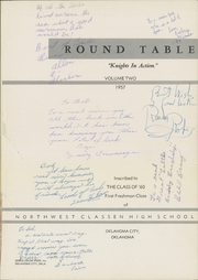 Page 5, 1957 Edition, Northwest Classen High School - Round Table Yearbook (Oklahoma City, OK) online yearbook collection