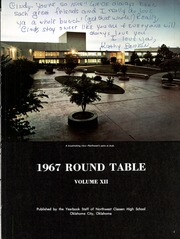 Page 5, 1967 Edition, Northwest Classen High School - Round Table Yearbook (Oklahoma City, OK) online yearbook collection