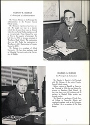 Page 11, 1953 Edition, Frontier Central High School - Gateway Yearbook (Hamburg, NY) online yearbook collection